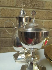 Communion Cruet and Ciborium
