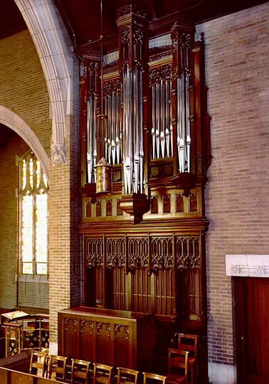 Létourneau Organ at Augustana Lutheran Church